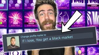 If I Lose, You Get A Black Market.