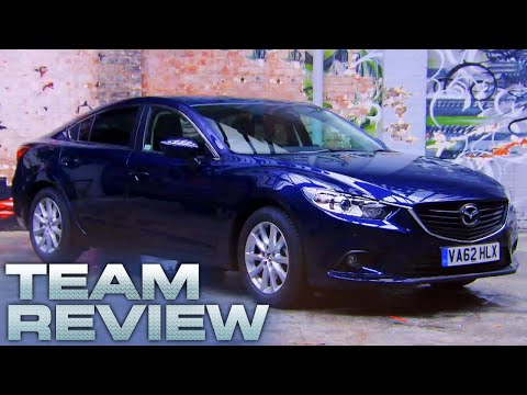 Team Review: Mazda 6 - Fifth Gear
