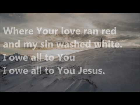 at the cross love ran red instrumental with lyrics