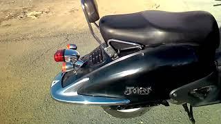 Honda Joker (Ретро скутер), 90 кубовая, двухместная модель.