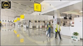 Full Video: Amazing New Nigeria Int'l Airport And Train Terminal In Abuja
