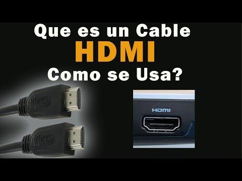 Que es un cable HDMI - Para televisiónes