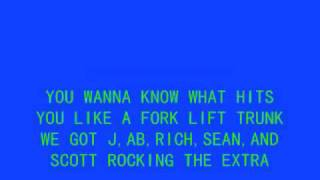 5IVE-SLAM DUNK DA FUNK WITH LYRICS!