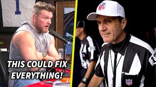 Pat McAfee Reacts To NFL's Referee Changes