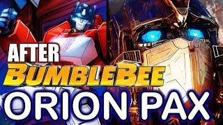 Orion Pax Origin: Before He Became Optimus Prime - After Bumblebee Movie