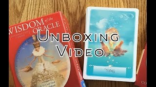 Wisdom Of The Oracle Deck Unboxing