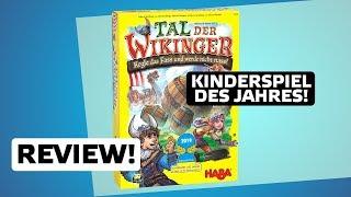 Tal der Wikinger // Kinderspiel des Jahres 2019 // Brettspiel - Review // Regeln & Meinung