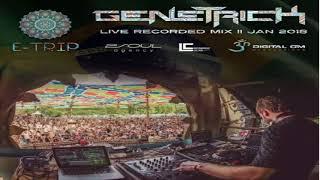GeneTrick   Live Set@E-Trip Festival   Brazil 01-01-2018 [Psytrance]