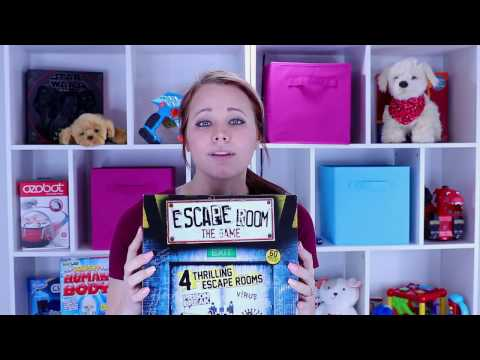Escape Room Game Unboxing and Game instructions