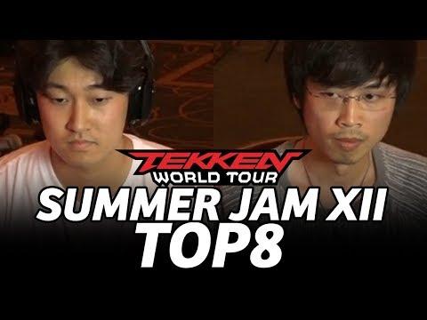 TEKKEN 7 ► SUMMER JAM XII TOP8 (TIMESTAMP) JeonDDing JimmyJTran Anakin JFury Pokchop Fab Speedkicks