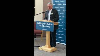 The Alberta government announces $7 million investment into continuing care in Drumheller.