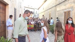 Visita de los Reyes y Sus Altezas Reales a la Casa y Museo de Fray Junípero Serra