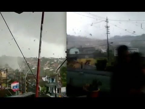 World Weather Report - Rare Indonesia Tornado!