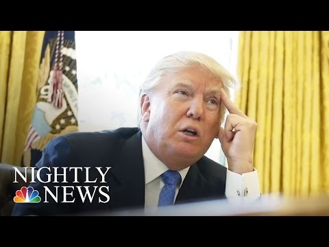 Government Shutdown Ahead Of President Donald Trump's 100th Day Is Possible | NBC Nightly News