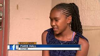 Brave 12-year-old wakes up to find burglar in her room, grabs kitchen knife and scares him off