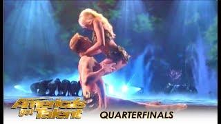 Zurcaroh: Best Dance Group RECREATE Adam & Eve In Heaven! | America