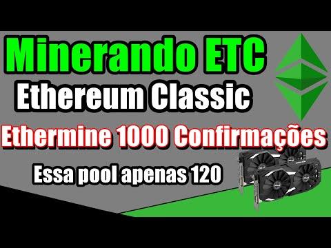 Minerar Ethereum Classic - Minerando ETC