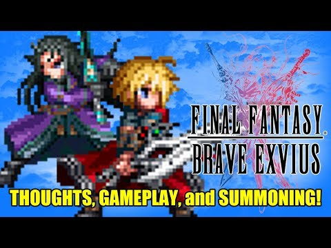 Final Fantasy Brave EXVIUS: Thoughts on the game and Cloud Summoning