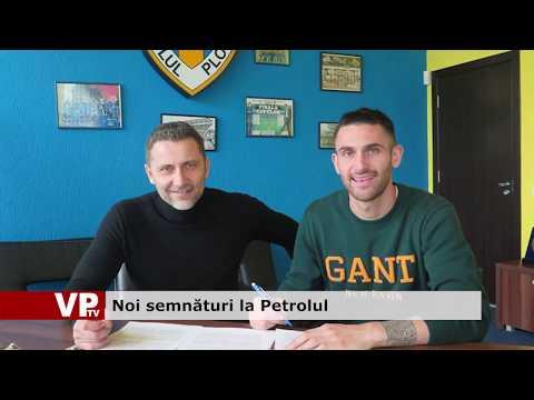 Noi semnături la Petrolul