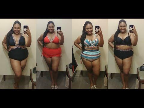 Plus Size Swimwear Try On| Lane Bryant