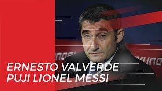 Pelatih Barcelona Puji Messi, Valverde: Bersama Dia, Semua Menjadi Mungkin