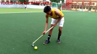 Hockey best skill. Dribbling slap and scoop shot