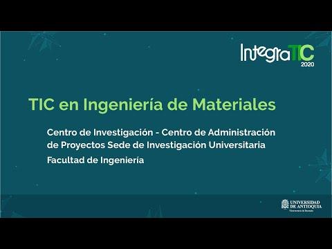 TIC en Ingeniería de Materiales