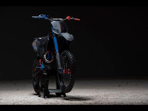 Chiêm ngưỡng Kawasaki KX 450 2019 làm bằng công nghệ in 3D