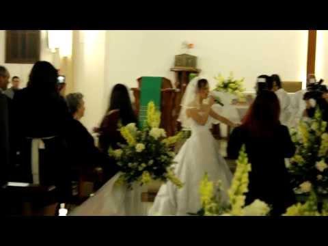 Casamento Paula Zortea em Torres-RS: Entrada da Noiva