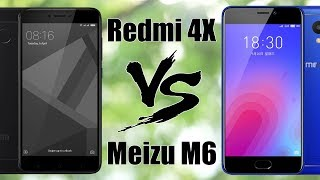 Meizu M6 VS Xiaomi Redmi 4X - сравнение камер, тесты, игры.