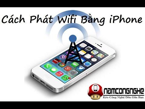 Cách phát wifi bằng iPhone 4 5 5s 6 6 Plus nhanh chóng