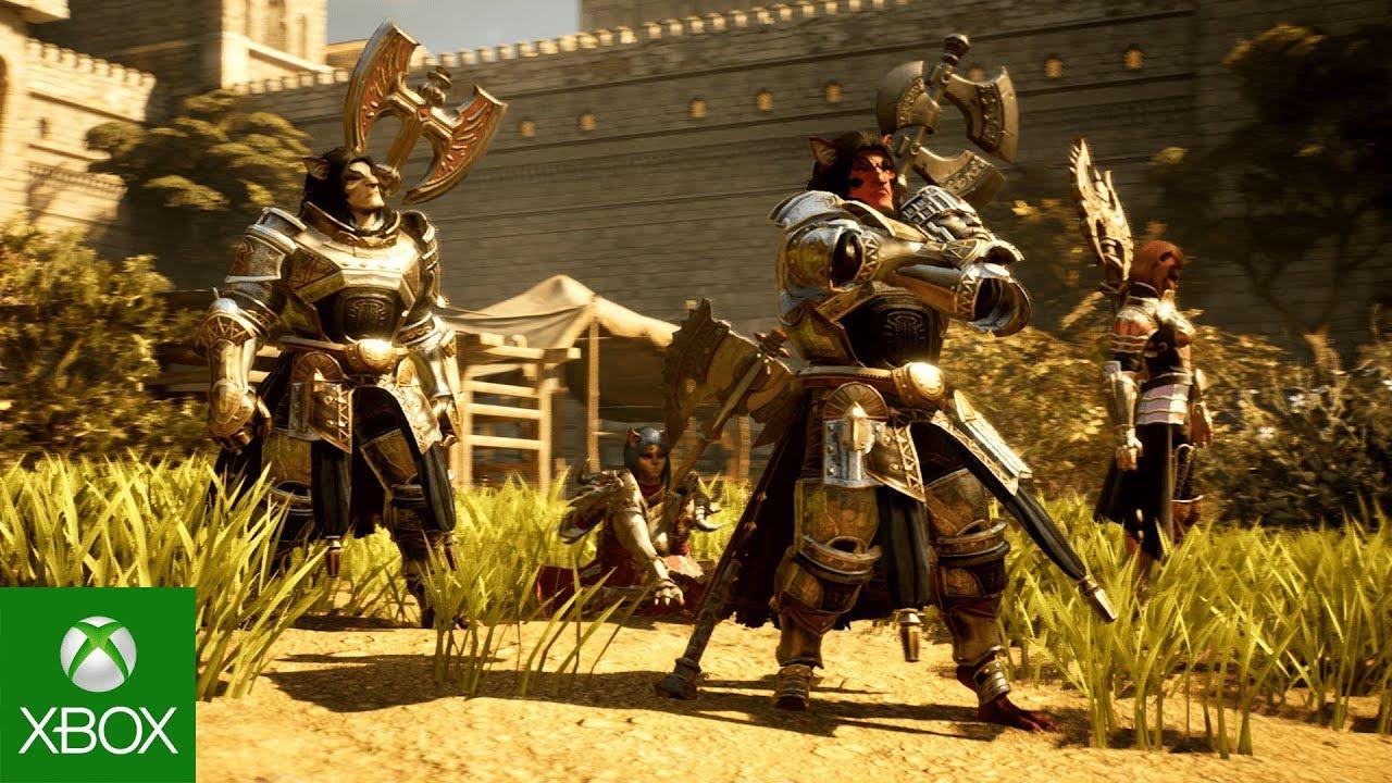 Vídeo de Escolha sua classe para Bless Unleashed, em breve no Xbox One