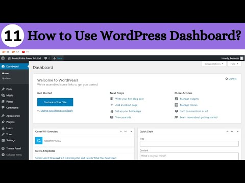 How to Use WordPress Dashboard in Hindi | WordPress Tutorials in Hindi | Karan Singh