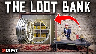 Running a BANK VAULT for RUST PLAYERS - Rust Shop Roleplay