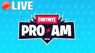 🔴LIVE: FORTNITE PRO AM 2019 TOURNAMENT (DUO) FT. TFUE, NINJA *NEW*