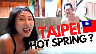 FUN! Hot Springs And The Green Library In Beitou Taipei Taiwan