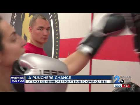Gym owner offering self defense classes for neighbors after attacks in the area