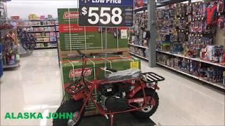 Alaska Walmart - Coleman Powersports CT200U Mini Trail Bike