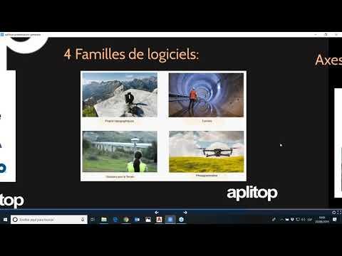 LEPONT INSTRUMENTS présente APLITOP et son logiciel pour la topographie TcpMDT