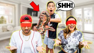 SCARING My Parents With a GIANT SNAKE!!! | The Royalty Family