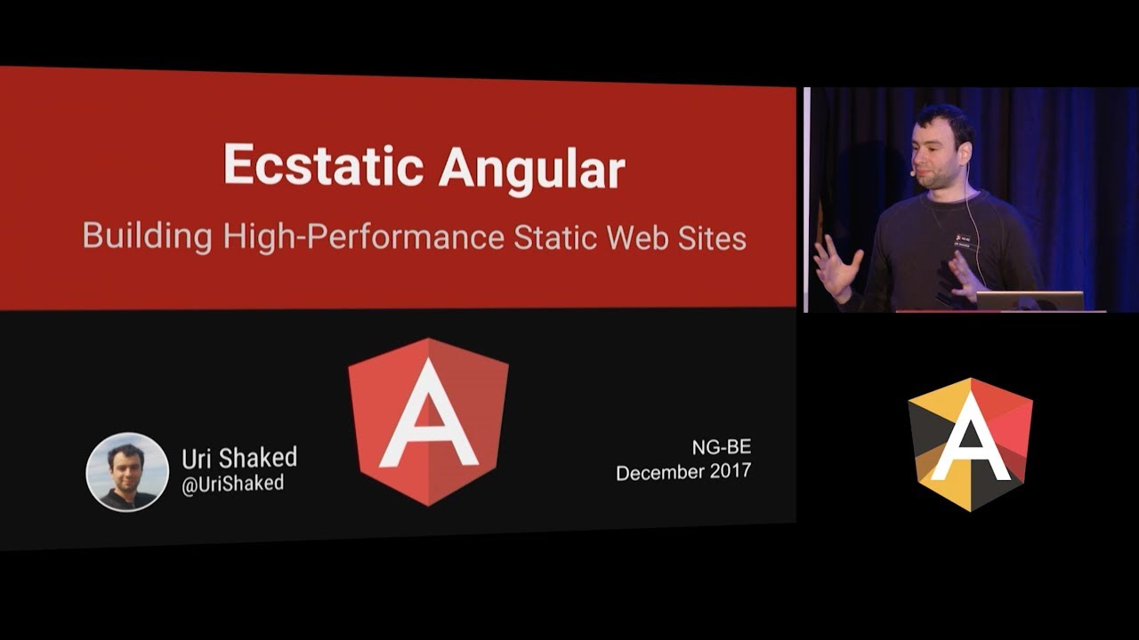 Building High Performance Static Website with Angular