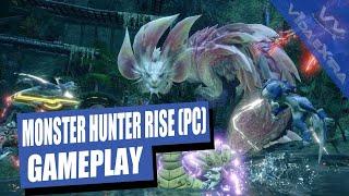Monster Hunter Rise - ¡Abatimos al brutal Mizutsune en PC!