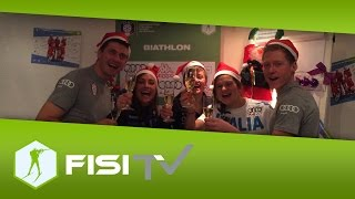 Buon Natale da Hofer e compagni | FISI Official