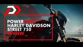 Harley Davidson Street 750 Review : PowerDrift