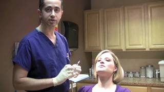 """Botox injection to upper lip to decrease gum show """"gummy smile"""" or smoker's lines"""