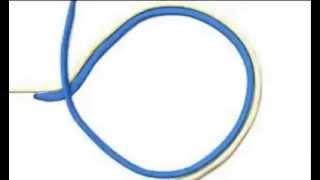 Хирургический узел для рыбалки как завязать схема