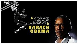 """""""No tenía dinero para comprar boletos para un juego de los Bulls"""", #Obama"""