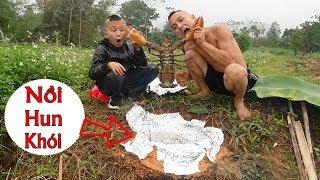 Tôm Hùn Hun Khói Cô Ca - Liệu Có Thành Công Với Nồi Đất Tự Chế Cực Ngầu ??