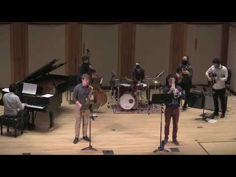 My jazz combo performing the music of jazz giants Horace Silver and Benny Golson at The Longy School of Music's Pickman Hall.