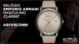 f3847f38c9f1b Relógio Emporio Armani Masculino Classic AR11116 0MN - Eclock